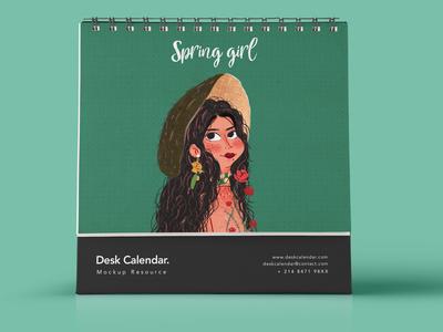 Spring girl3