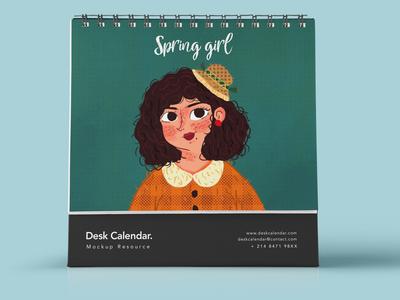 Spring girl4
