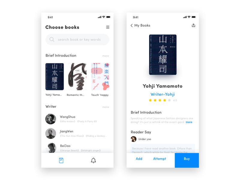 19-Reading App Design Project 精彩 设计 喜欢 爱 美丽 每天