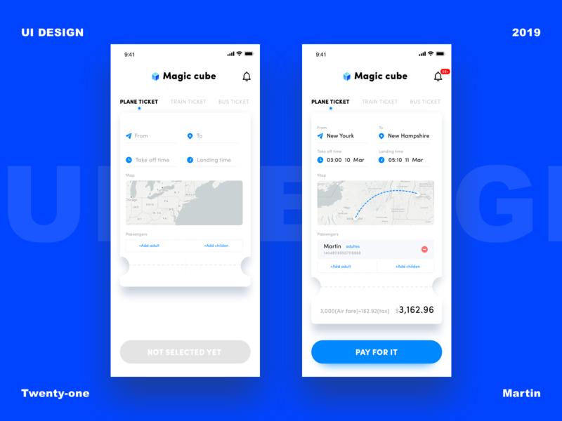 21-Ticketing App 精彩 设计 爱 美丽 每天