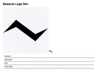 Basscss Logo react logo svg