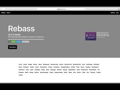 Rebass 0.2 components ui web react