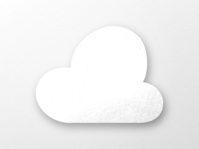 Paper Cloud icon icons texture paper