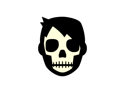 Tis the Season halloween avatar skull logo