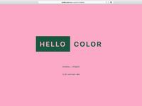 Hello Pink