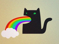 My Cat Pukes Rainbows