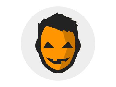 Ermah-gourd! Jack O'Lantern! avatar logo illustration halloween jackolantern