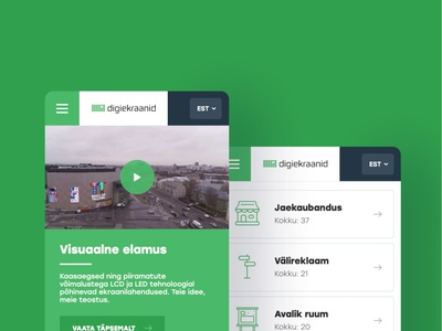 Digiekraanid animation icon webdesign ux ui design