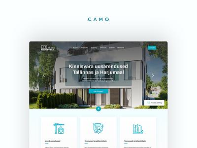 Real Estate website web website ui webdesign ux design