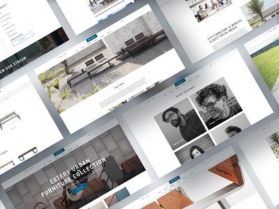 Extery web design website ux ui design webdesign