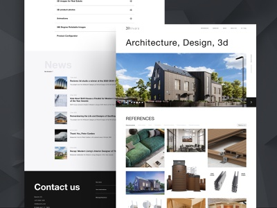3D agency website web website webdesign ux ui design