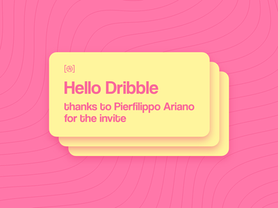 Hello Dribble hello dribble