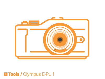 Tools: Olympus Pen E-PL1 olympus photography illustration olympus e-pl1 tools electronics