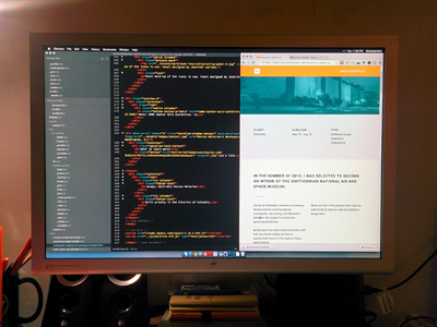 Almost there. Part 2. portfolio web design