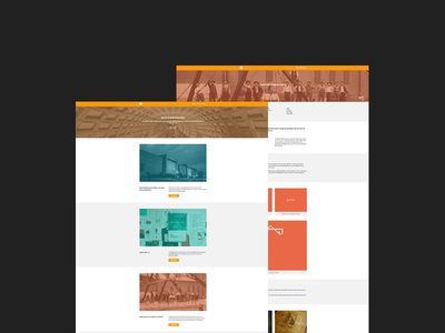 We're live. Part 2. web design development portfolio brackets