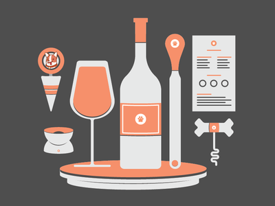 Uncorked: Illustrations sxsw trackmaven illustrations uncorked wine tasting