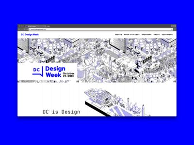 DC Design Week 2016: Website