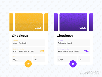 Visa checkout popup portal payment design dailyui popup card credit checkout visa