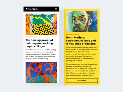 Art magazine artistic magazine paintings colors yellow sculptor painter henrimatisse mobile art