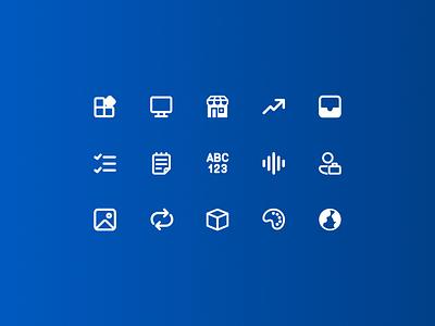WMS icons minimal autentika agency poland polishdesigners polish designer design system wms ui design icons ui