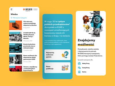 Landing Page Redesign branding illustration yellow websites uiux agency polishagency ui design clean mobile website ui