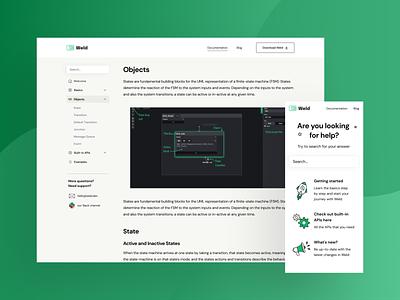 Landing Page for Desktop App line linear gradient green polishdesigners poland polish uidesigners illustration design uidesign desktop agency clean mobile website ui
