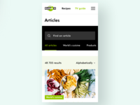Kuchnia+ redesign (mobile)