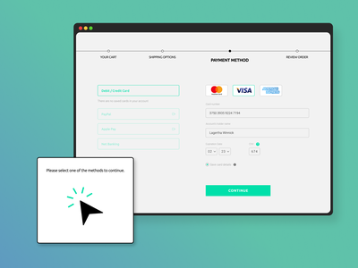 Credit Card Checkout - Daily UI 002 page checkout card daily ui dailyui figma design ui