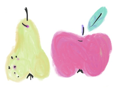 Some Sweet Fruits Painting