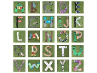 Sock Alphabet (Or Just A Little Bit Strange Thing To Do)