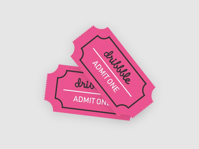 1 Dribbble Invite 🏀🔥 ticket member invitation invites dribbble