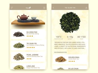 Tea Culture drink culture tea ui app