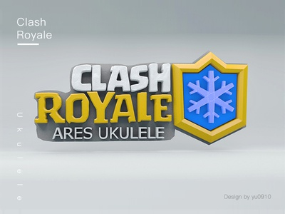 Clash Royale Ares ukulele ares clash royale c4d