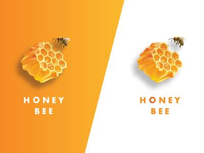 Honey Bee Logo Designs