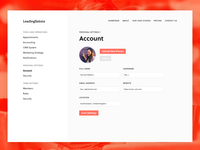 LeadingSalons - User Profile