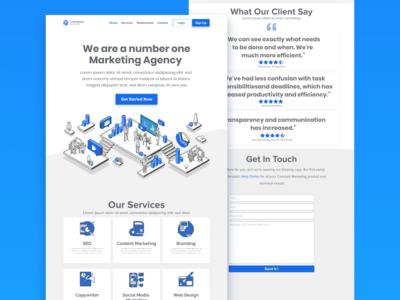 Marketing Agency Landing Page