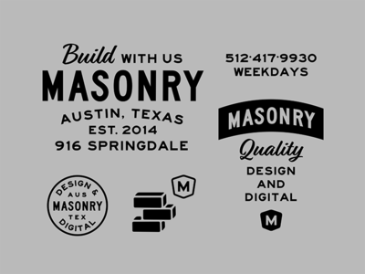Masonry Brand Exploration