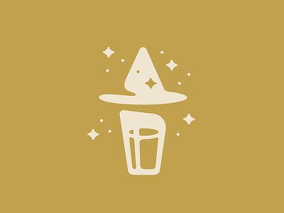 Hefewizard simple magic illustration beer hefeweizen wizard hefewizard