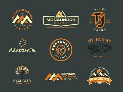 BNI Dribbble Presentation 10/8/20 logo design print branding logo