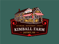 Kimball Farm Vintage House - Full Color