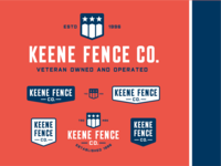K Fence Co Logo & Lockups 2018