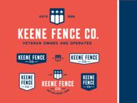 K Fence Co Logo & Lockups 2018