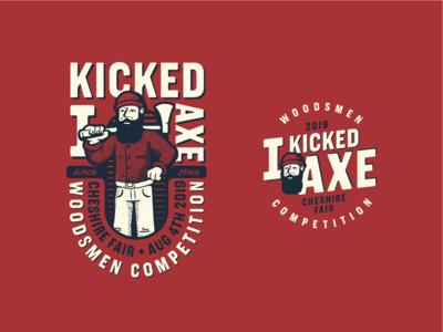 IKA 2019 Concept 2.1 competition lumberjack apparel graphic badge vintage macot brand mark logo