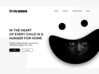 Smile Orphanage Landing Page Concept!