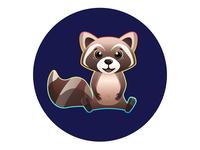 Happy Raccoon