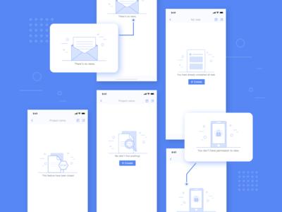 Default page design