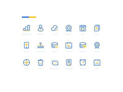 Icon design   Cooperation app figma colourful icon colourful dashboard achitecture cooperation ui illustration design icon