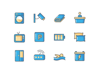 AMENITIES ICONS