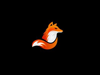 Colorful Fox Logo Design modern minimalist creative logo fox fox logo logos icon logo design logo illustrator design vector