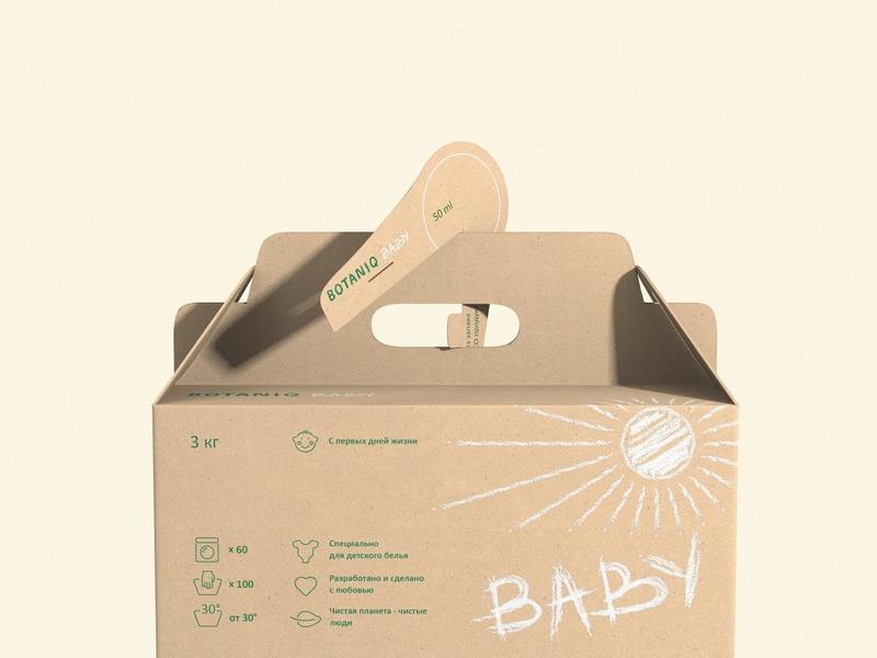 BOTANIQ Baby🌲 chalk carton eco-friendly eco washing powder needles craft